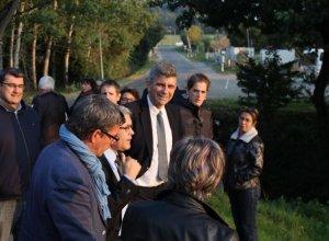 Visite communale Pont-du-Casse 14 octobre 2015